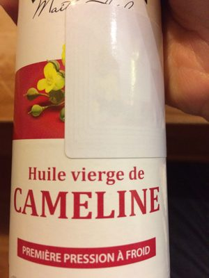 Huile Cameline Vigean - Ingrédients