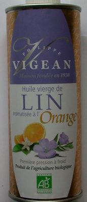 Huile de lin-orange - Produit - fr