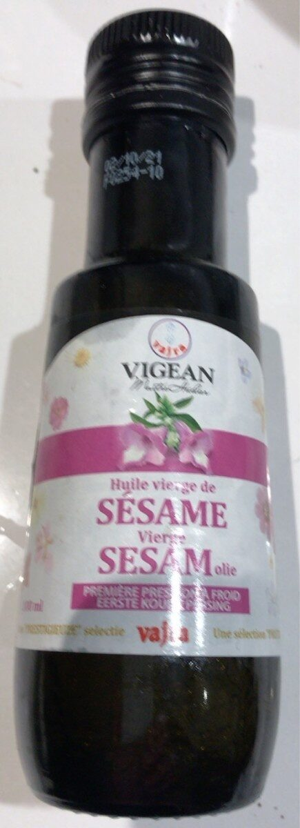 Huile vierge de Sésame - Product - fr