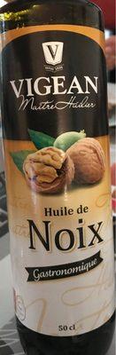Huile de noix - Produit