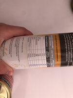 Huile de noix - Informations nutritionnelles