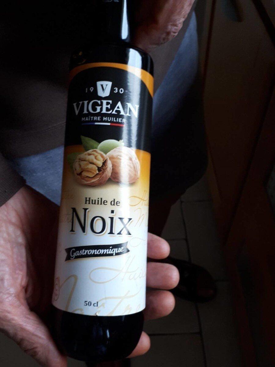 Huile de noix - Informations nutritionnelles - fr