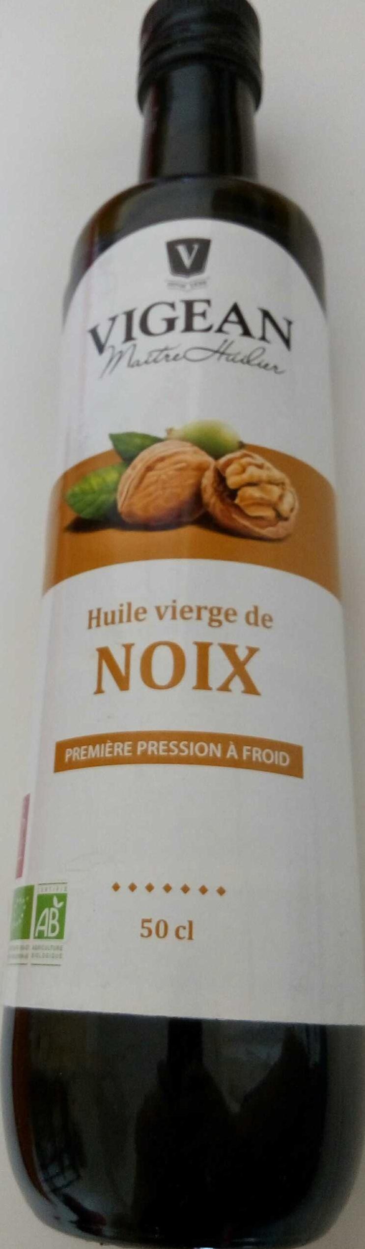 Huile vierge de noix - Produit