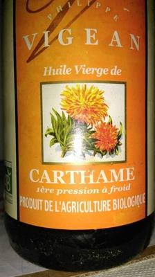 Huile vierge de carthame vigean 500ml - Huile de carthame cuisine ...
