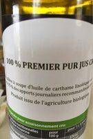 Huile vierge de Carthame - Ingrédients - fr