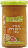 Orange pamplemousse citron - Produit - fr