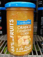 Confiturelle orange clementine corse - Product - fr