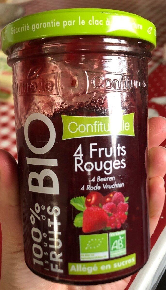 4 Fruits Rouges - Produit - fr