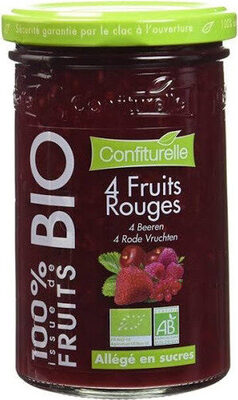Confiture 4 Fruits rouges - Produit - fr