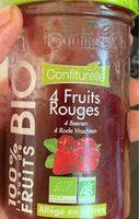 Confiture 4 Fruits rouges - Voedingswaarden - fr