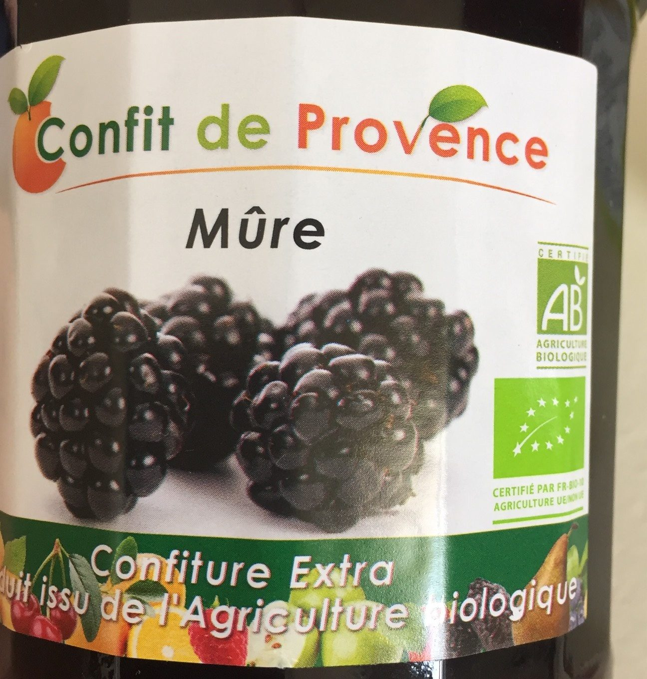 Mûre Confiture Extra - Product
