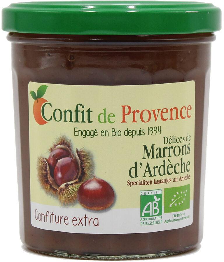 Délices de marrons d'Ardèche - Nährwertangaben - fr