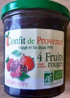 4 fruits rouge - Product - fr