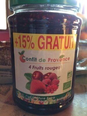 Confit De Provence 4 Fruits Rouges - Product - fr