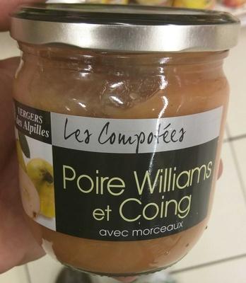 Poire Williams et Coing - Produit
