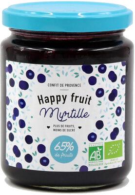 Happy fruit myrtille - Istruzioni per il riciclaggio e/o informazioni sull'imballaggio - fr