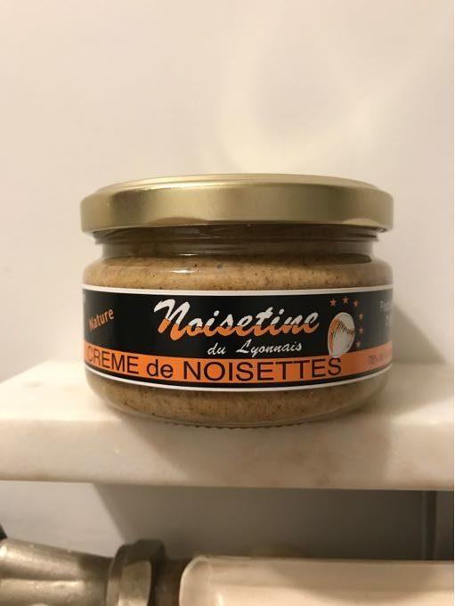 Crème de Noisettes Nature - Product