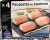 Paupiette au saumon surgelée - Product