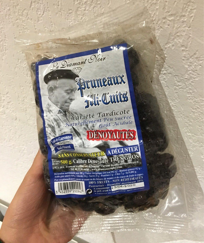Pruneaux Mi-Cuits - Produit