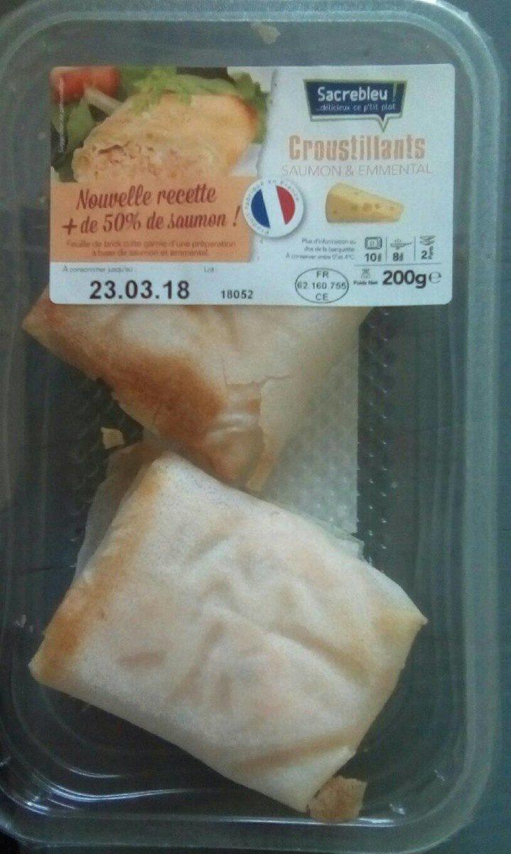 Croustillants de Saumon & emmental - Produit - fr