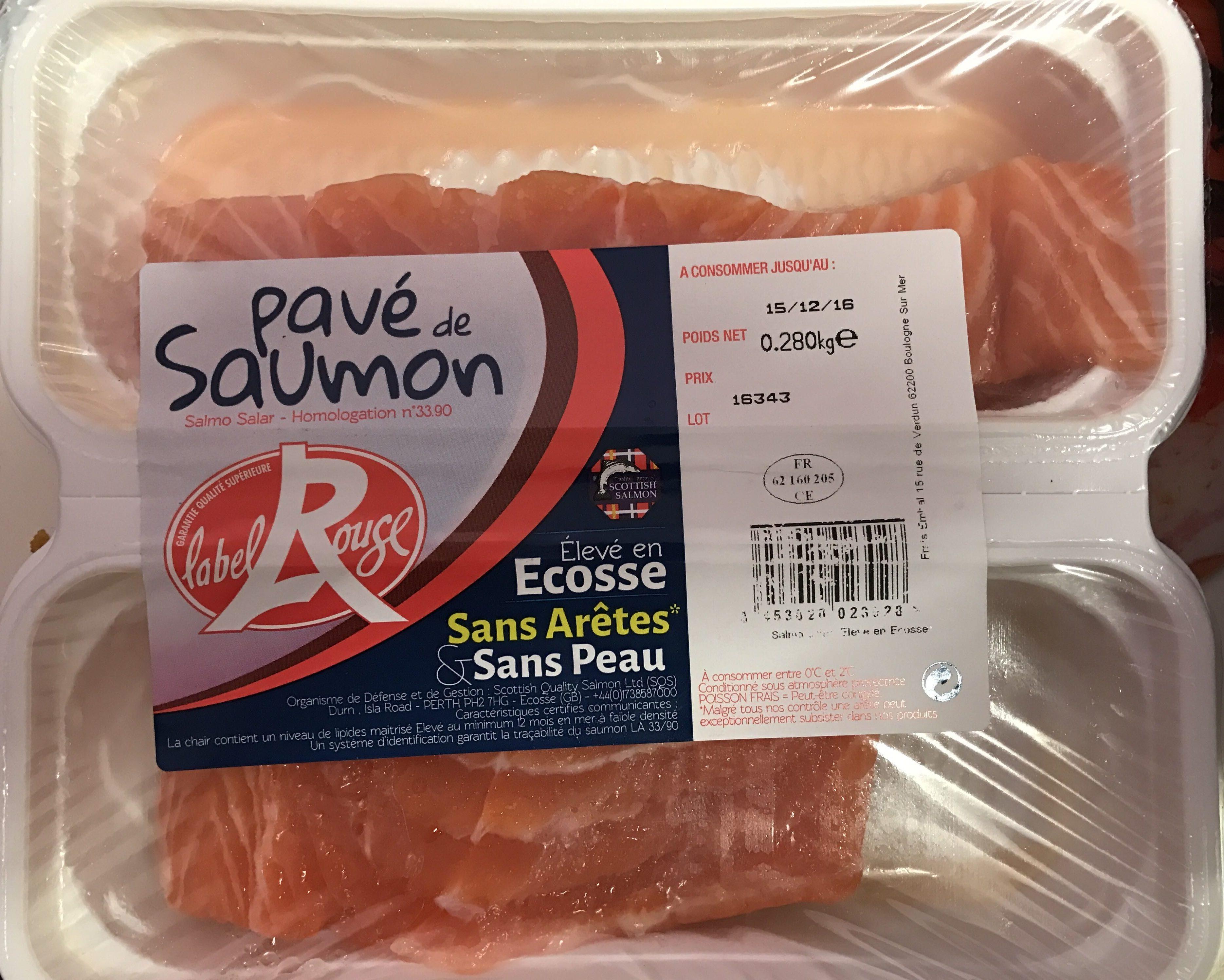 Pavé de Saumon - Product - fr
