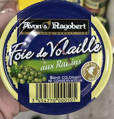 Foie de volaille au Raisin - Produit