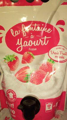 La Fontaine à Yaourt aux fraises mixées - Produit - fr