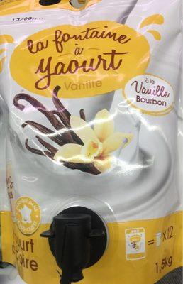 La Fontaine à Yaourt à Boire Vanille Bourbon - Produit