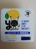 Yaourt brebis citron - Product