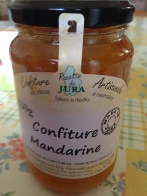 Confiture Mandarine - Product - fr