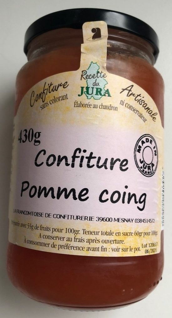 Confiture pomme coing - Product - fr