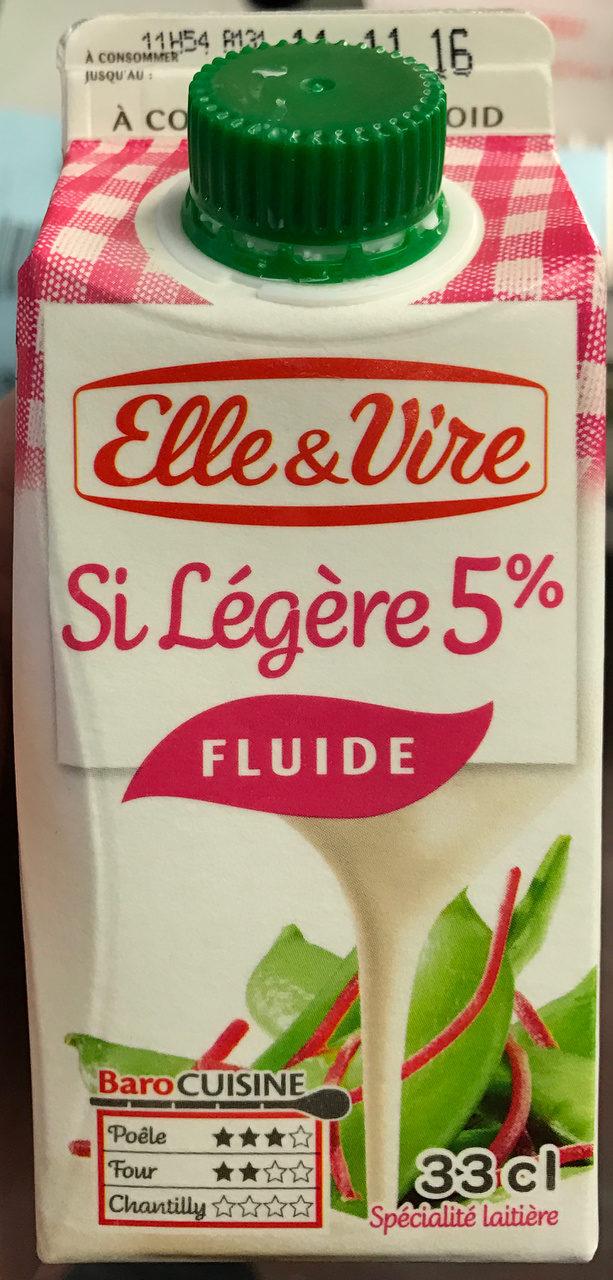Si Légère 5% Fluide - Produit