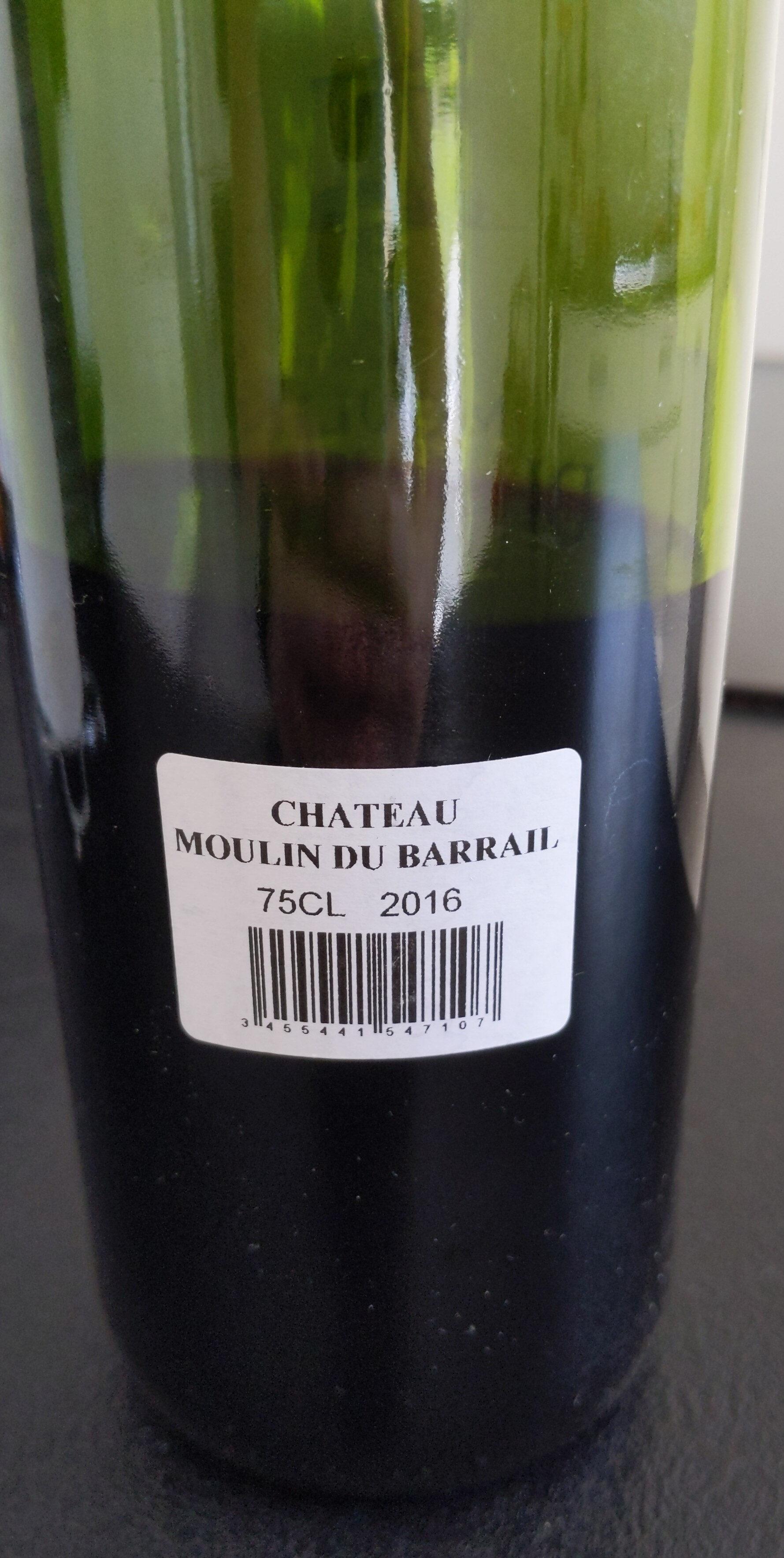 Bordeaux supérieur Château Moulin du Barrail - Product - fr
