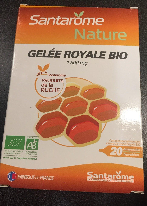 Santarome Gelée Royale Bio 20 Ampoules - Product - fr