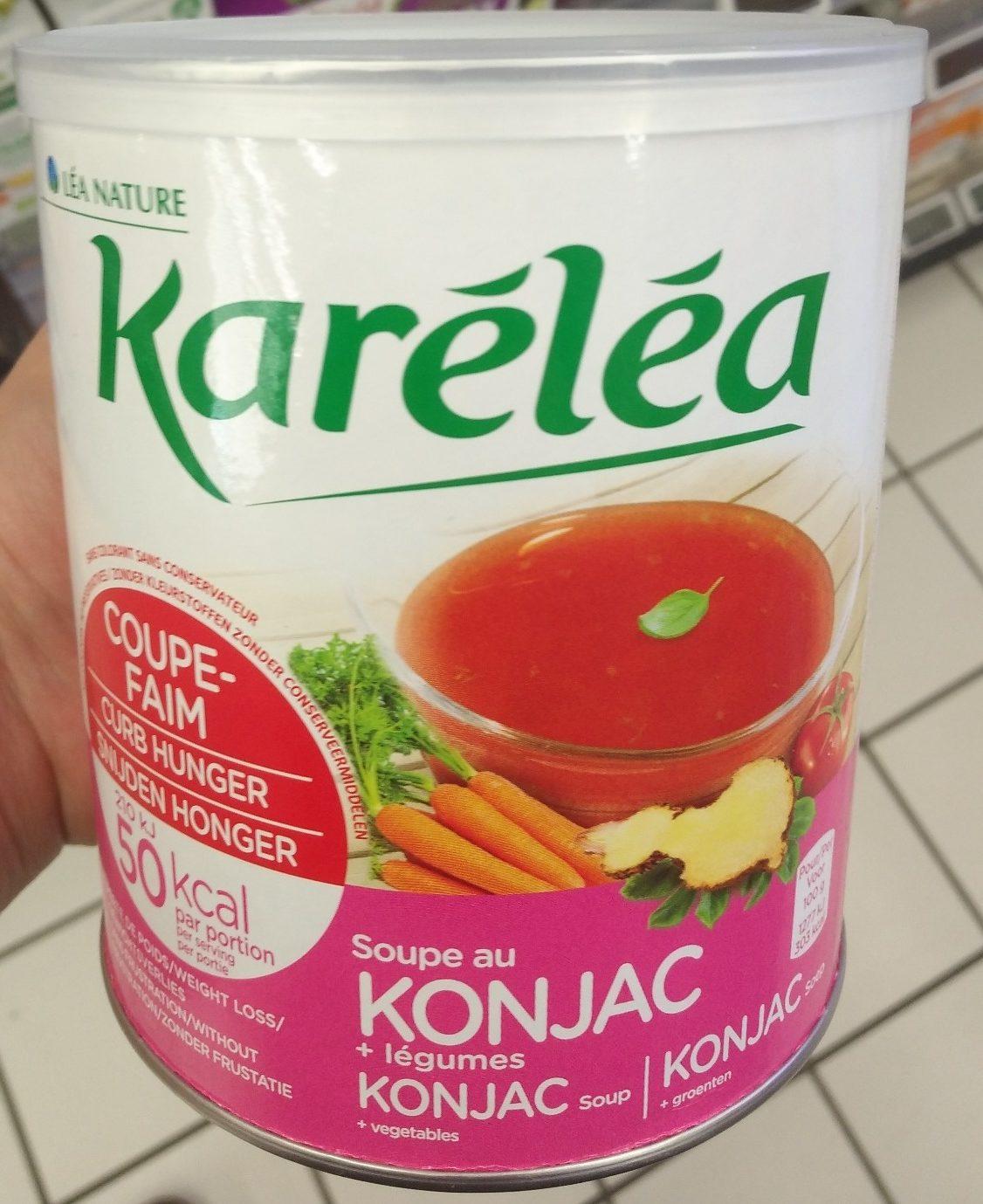 Soupe coupe faim au Konjac - Product - fr