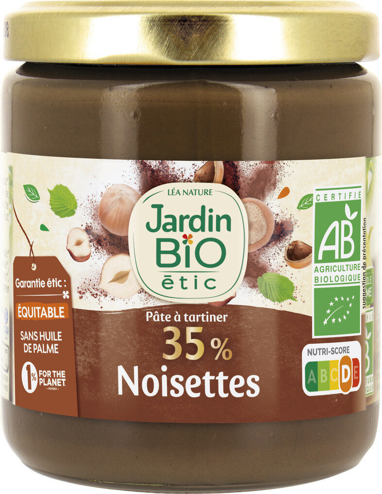 Pâte à tartiner 35% noisettes - Product - fr