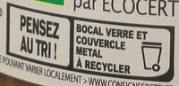 Pâte à tartiner 35% noisettes - Recycling instructions and/or packaging information - fr