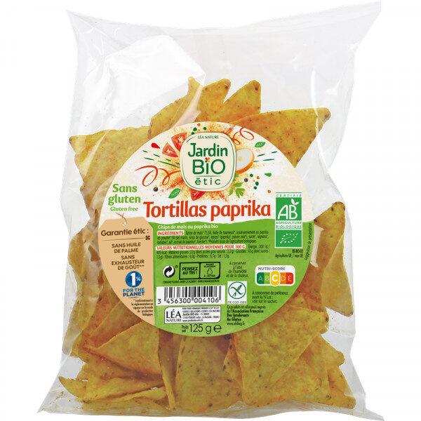 Tortillas Paprika - Produit - fr
