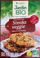 Préparation pour steaks veggie aux 3 céréales - Product - fr