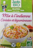Mix à L'indienne Céréales Et Légumineuses Sans Gluten Bio - Product - fr