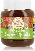 Pate à tartiner chocolat noisette sans gluten bio - Prodotto - fr