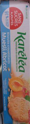 Karelea muesli abricot - Produit