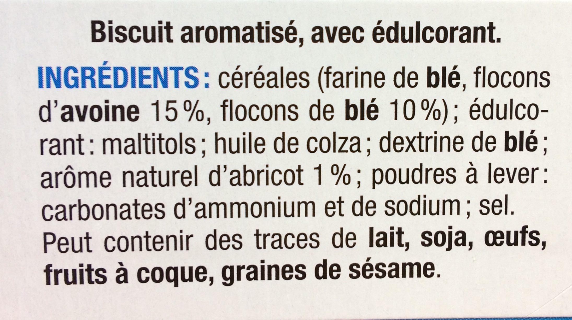 Karelea muesli abricot - Ingrédients