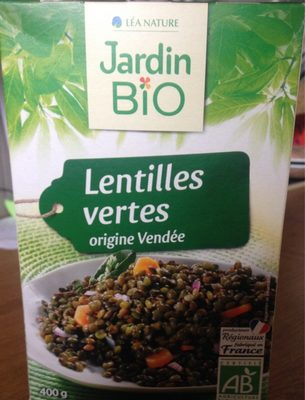 Lentilles vertes irigine Vendée - Product