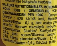 Ma confiture extra Citron - Nutrition facts