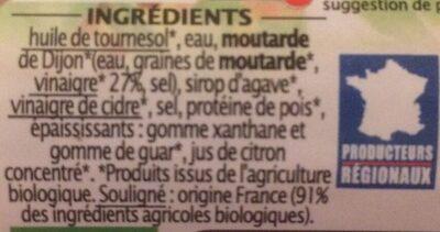 Sauce façon mayo sans oeuf - Ingrédients - fr