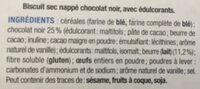 Petit Beurre Chocolat - Ingrédients
