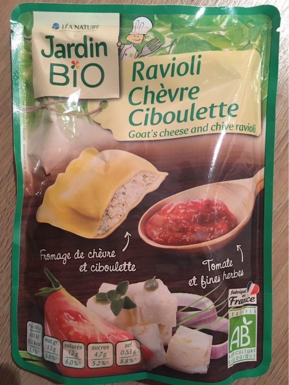 Ravioli chèvre ciboulette - Produit - fr