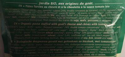 Ravioli chèvre ciboulette - Ingredients