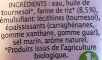 Riz cuisine léger - Ingredients - fr